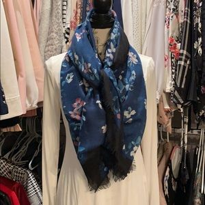 White house black market floral scarf